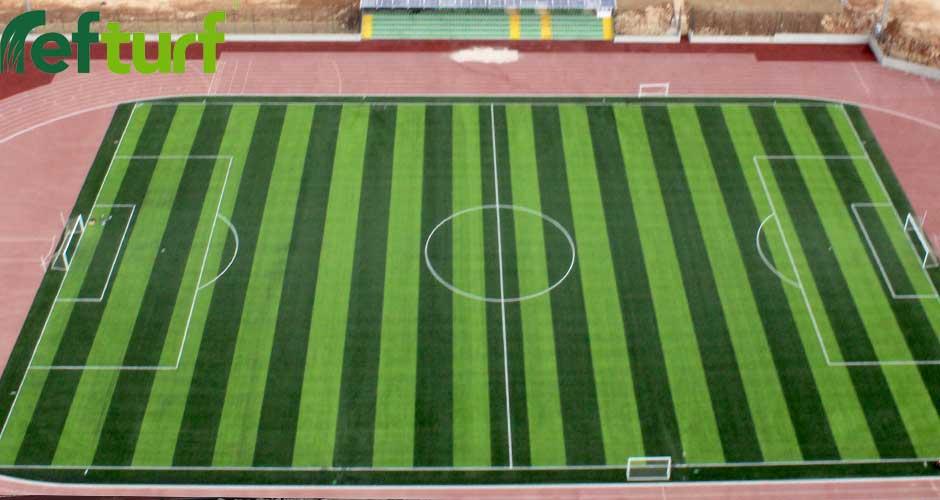 sentetik çim, suni çimli futbol sahası