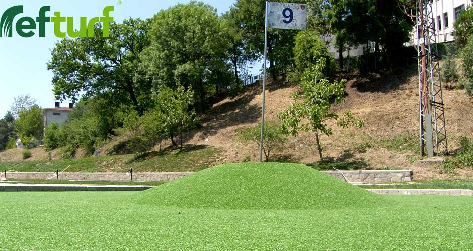golf sahası, golf, golf field, refturf, 9 numara,