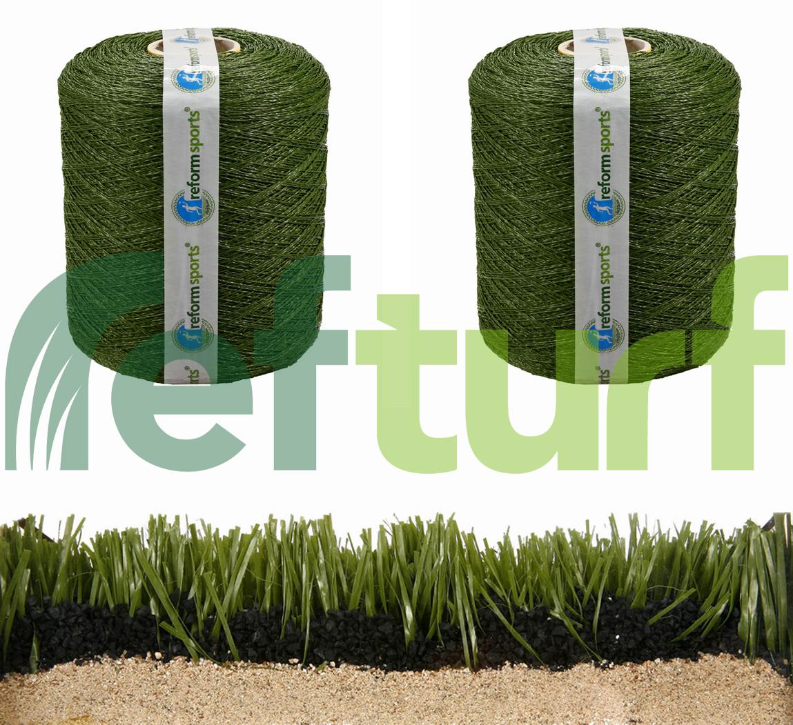 çim halı ipliği, iplik, halı saha ipliği, sentetik çim halı ipliği, reform iplik, reform halı,