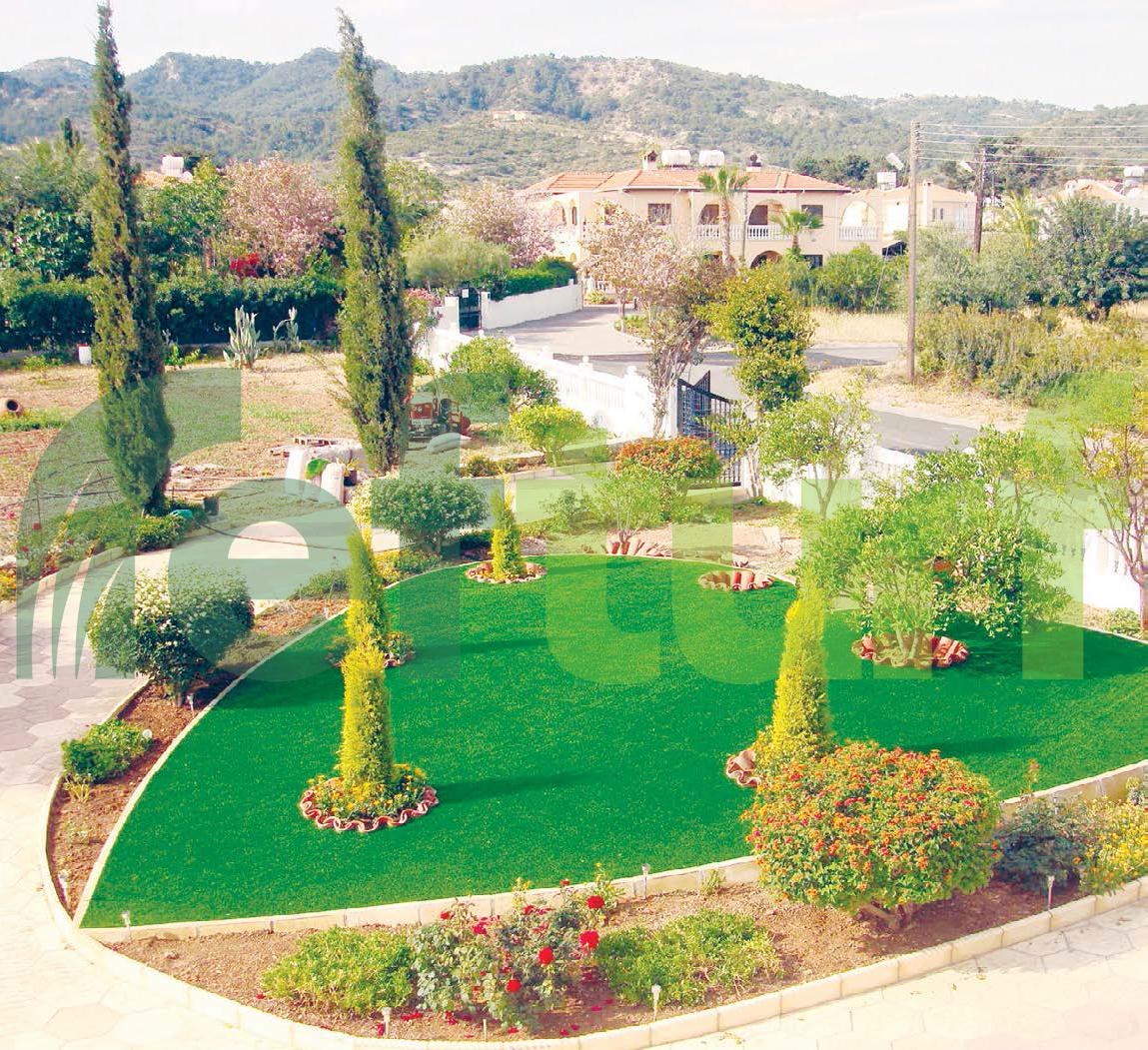 peyzaj, dekoratif çim, kalp şeklinde bahçe, kalp sentetik çim,  bahçe  düzenlenmesi,