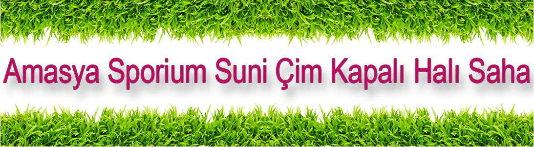 Amasya Sporium Suni Çim Kapalı Halı Saha, sporium,