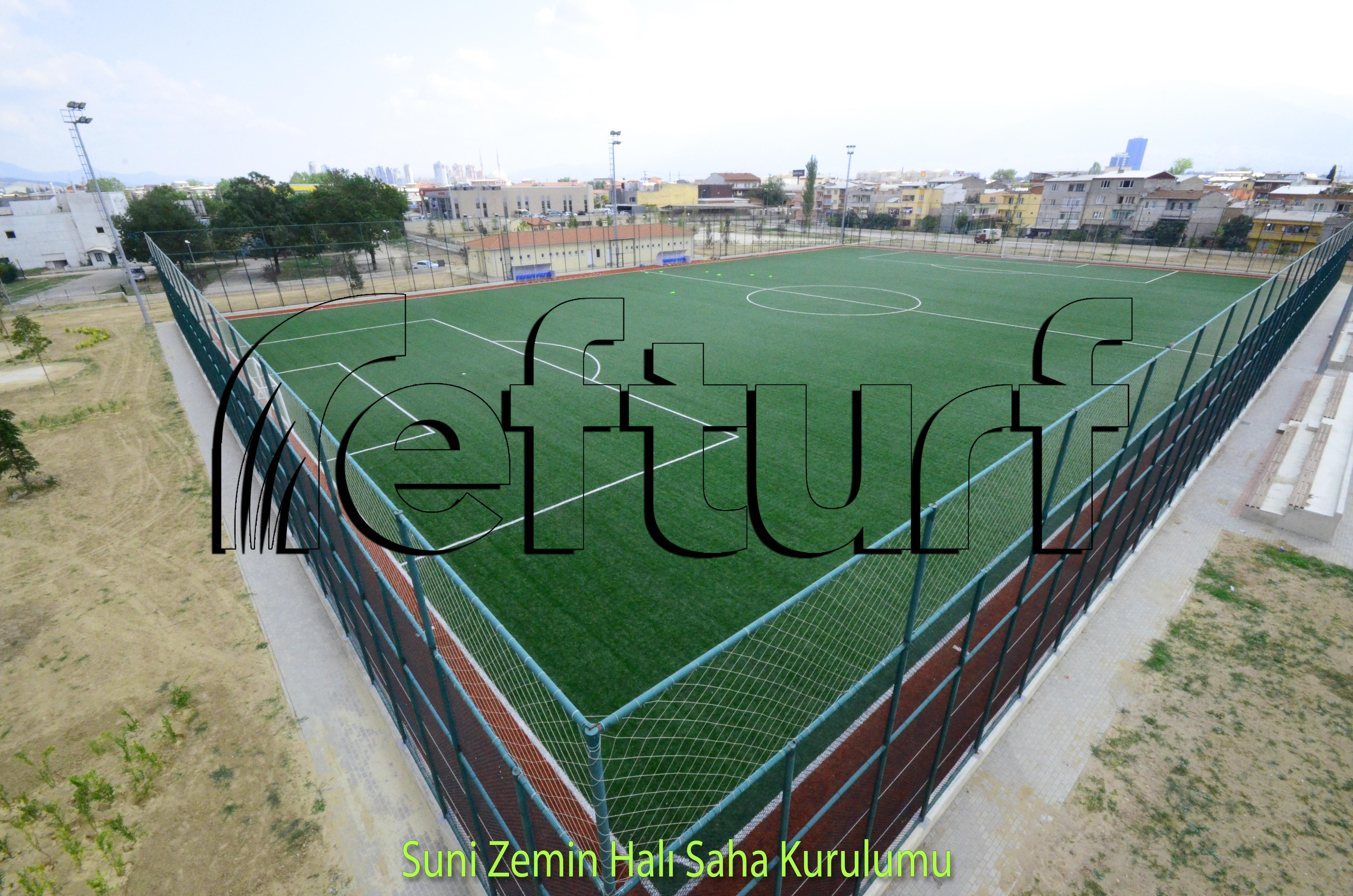 nizami saha kurulumu, nizami saha, örnek saha, örnek stadyum, stadyum yapımı,