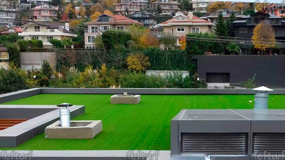 sentetik çim teras, sentetik çim teras kaplama,