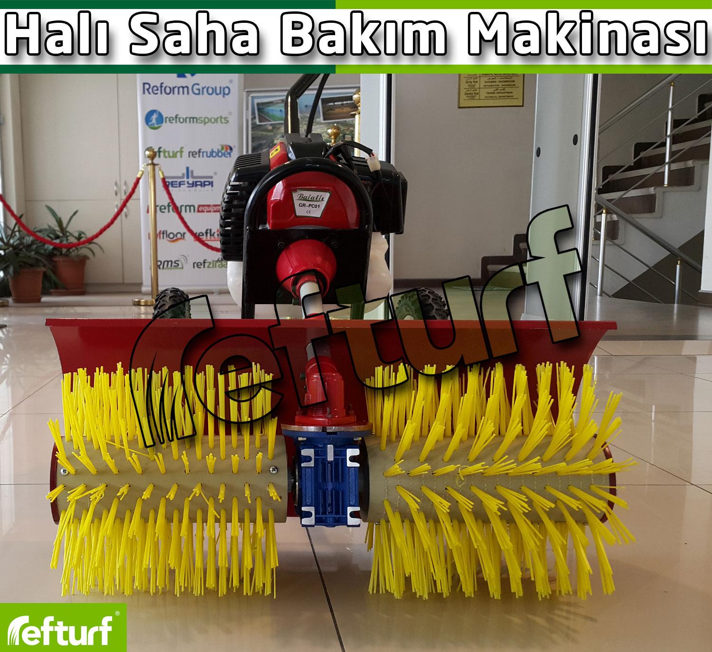 halı saha bakım makinası, halı saha mini bakım makinası, halı saha çim düzeltme makinası,