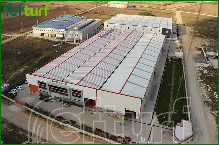 reform fabrika, refturf fabrika, refturf kuşbakışı fabrika,