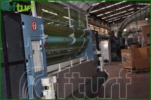 sentetik çim üretim bandı, sentetik çim üretimi, sentetik çim fabrika,